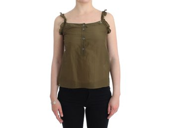 Galliano - Green cotton top