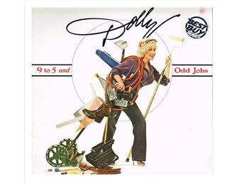 "DOLLY PARTON - 9 to 5 and Odd Jobs - LP ""cut out"" (1980)"