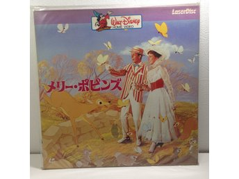 Mary Poppins Walt Disney (Julie Andrews) Laserdisc 2LD B8-23