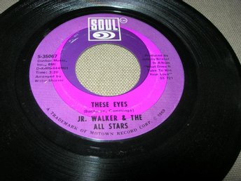 JR. WALKER & The ALL STARS- These Eyes US -69 SOUL R & Blues