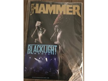 Metal hammer med GHOST patch+poster