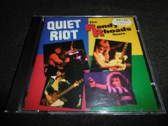 Quiet Riot - The Randy Rhoads years - CD - 1993