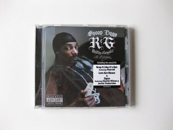 Snoop Dogg - R & G (Rhythm & Gangsta): The Masterpiece CD