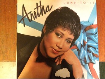 ARETHA FRANKLIN. Jump To It (Arista) (1982) LP