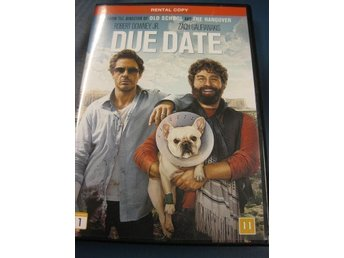 DUE DATE  -  ROBERT DOWNEY JR. , ZACH GALIFIANAKIS