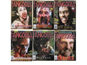 Fangoria 19 tidningar nummer 286 - 304 movie horror skräck film fx