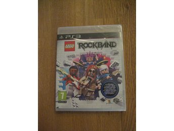 Rock Band Lego- PS3 - NYTT INPLASTAT
