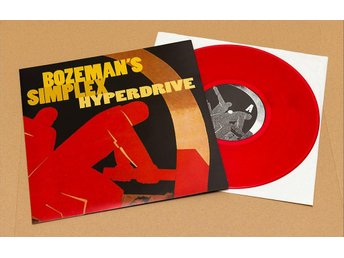 Bozemans Simplex – Hyperdrive – 10-tummare i röd vinyl – Candlemass - Saltsjöbaden - Bozeman's Simplex – Hyperdrive – 10-tummare i röd vinyl – Candlemass - Saltsjöbaden