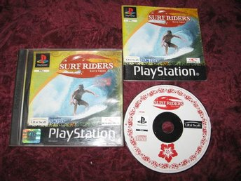 SURF RIDERS PLAYSTATION ONE RETRO