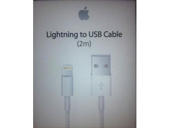 2m iPhone Laddara USB Kabel Kablar Cable 6s-6plus+-7-7plus - 2st - Falköping - 2m iPhone Laddara USB Kabel Kablar Cable 6s-6plus+-7-7plus - 2st - Falköping