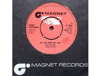 "Mandy Perryment title* Do You Want My Love* Disco 7"" UK"
