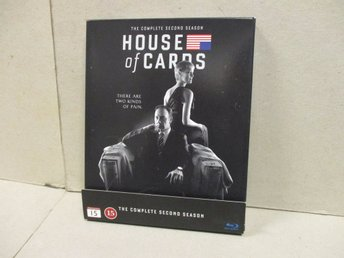 HOUSE OF CARDS (Blu-ray) - SÄSONG 2, (4 DISK) - MKT FINT SKICK! - Stockholm - HOUSE OF CARDS (Blu-ray) - SÄSONG 2, (4 DISK) - MKT FINT SKICK! - Stockholm