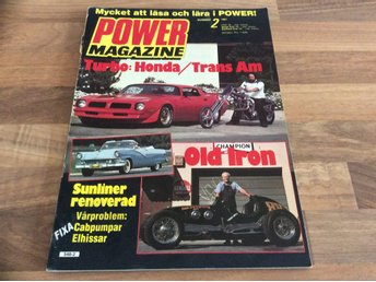 POWER Nr 2 1981 Chopper,Shelby G T 350,Camino Hot Rod