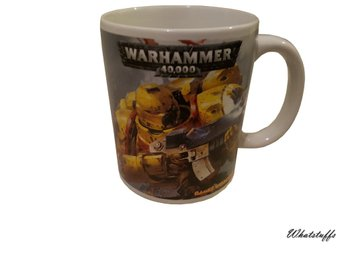 Warhammer 40k Imperial Fists Mugg