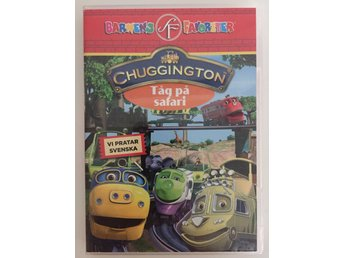 "DVD Chuggington ""Tåg på safari"""