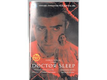 Doctor Sleep. Thriller, 108 min, 2002, VHS