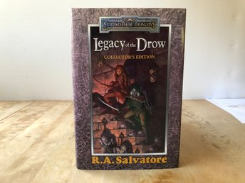 Legacy of the Drow Collectors edition - Forgotten realms - 2001