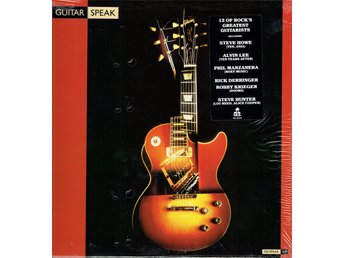 VARIOUS ARTISTS - GUITAR SPEAK. LP