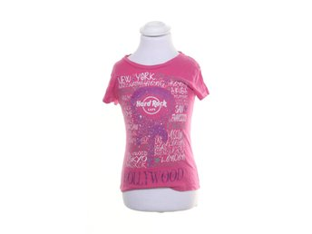 Hard Rock Cafe, T-shirt, Strl: 98, Rosa/Vit/Lila