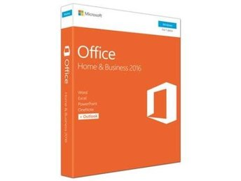 Microsoftr Office Home & Business 2016 Win Swedish 1 License Medialess