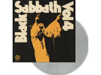 Black Sabbath -Vol.4 lp Clear vinyl Doom Ozzy Osbourne w/ins
