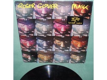 GLOVER, ROGER - Mask , US 1984 LP , deep purple