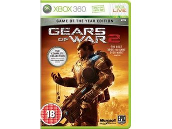 GEARS OF WAR 2 GAME OF THE YEAR EDITION   TILL Xbox360!