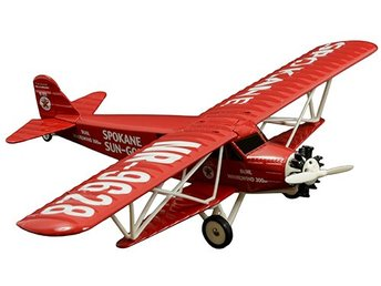 "Wings of Texaco ""Spokane Sun God"" 1929 Buhl CA-6 Sesquiplane"