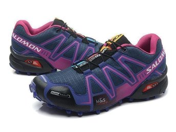 Salomon Speedcross strl 39 womens Skor dark grey with purple - Houston - Salomon Speedcross strl 39 women's Skor dark grey with purple - Houston