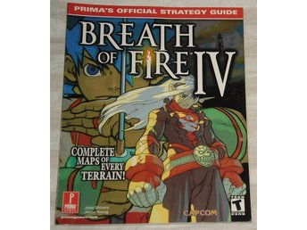 PlayStation 1/PS1: Breath of Fire IV 4 The Official Guide