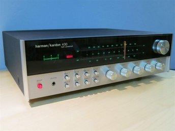 1976 Harman/Kardon Model 430 AM/FM stereo receiver - MYCKET FIN! - Göteborg - 1976 Harman/Kardon Model 430 AM/FM stereo receiver - MYCKET FIN! - Göteborg