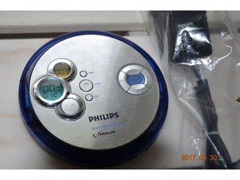 PHILIPS EXP 2461 PORTABEL BÄRBAR MP3 CD SPELARE PLAYER