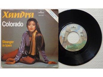 "XANDRA 'Colorado' 1979 Norwegian 7"" - Bröndby - XANDRA 'Colorado' 1979 Norwegian 7"" - Bröndby"