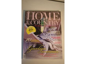 Lifestyle HOME & COUNTRY, Inredningsmagasin / Inredningstidning, nr 3/2012