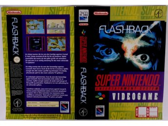 Flashback (Original Rental Cover Paper) -