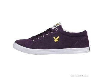 Sneakers Lyle and Scott Plimsoll i stl 44 / Lila