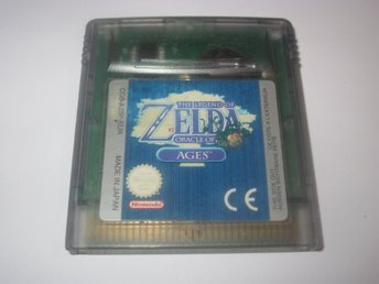 Zelda Oracle of Ages till Nintendo Game Boy Color GBC