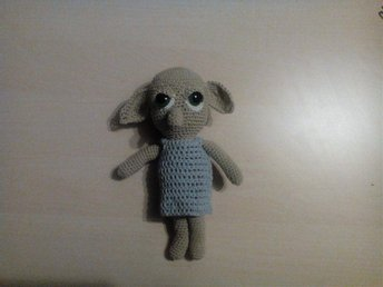 Amigurumi dobby the house elf, harry potter