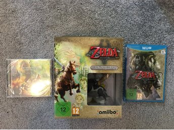 Zelda twilight princess Limited edition wii u