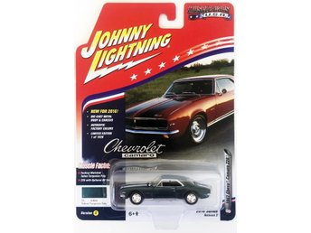 1967 Chevrolet Camaro Z/28 1/64 Johnny Lightning mörk turkos