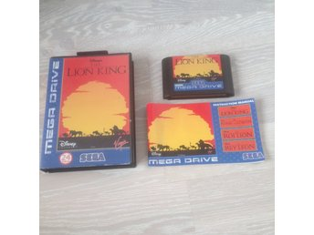 Lion King - MEGA DRIVE (PAL)