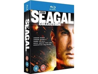 Steven Seagal Collection Blu-ray