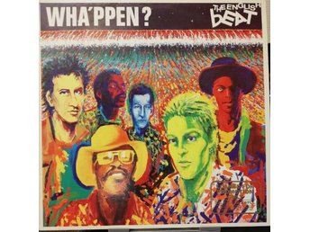 The English Beat  Wha´ppen?  Promotion copy