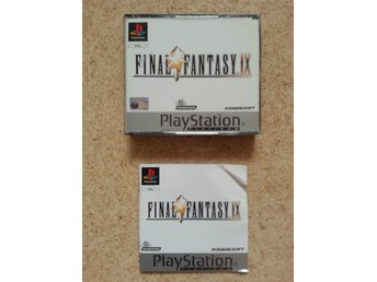 Final Fantasy IX 9 Platinum, Playstation, PAL