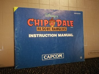 Chip'n Dale manual till NES - SCN