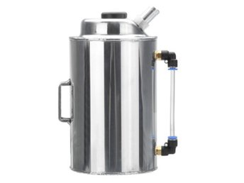 0.5L Barb Oil Catch Tank Can Reservoir Breather Filter Al...