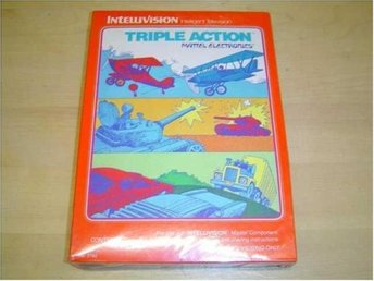 TRIPLE ACTION MATTEL INTELLIVISION *NYTT*