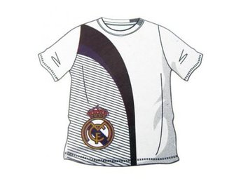 Real Madrid T-shirt Vit-Svart M