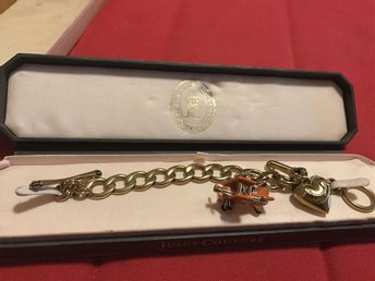 Juicy Couture armband med flygplanscharm