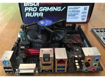 ASUS B150I Pro Gaming Aura B150 Intel Core i3 6100 1151 - åkersberga - ASUS B150I Pro Gaming Aura B150 Intel Core i3 6100 1151 - åkersberga